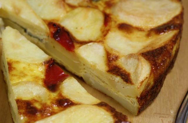 Frittata de pommes de terre, Mayonnaise et Moutarde - Photo par Amora