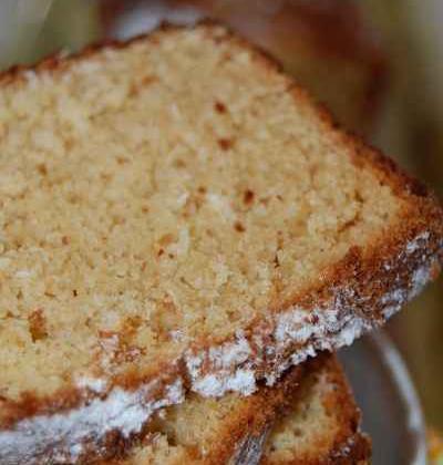Cake à la noix de coco et au beurre de cacahuète - Photo par newelm
