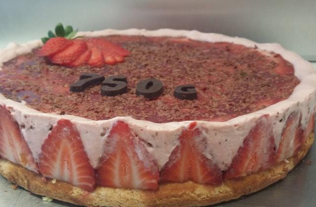 Gâteau à la fraise - Photo par elkfat