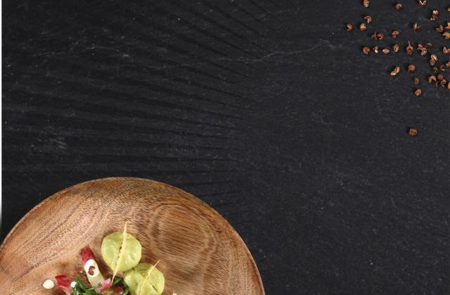 Salade d'endives rouges à l'aquitaine - Photo par Perle du Nord