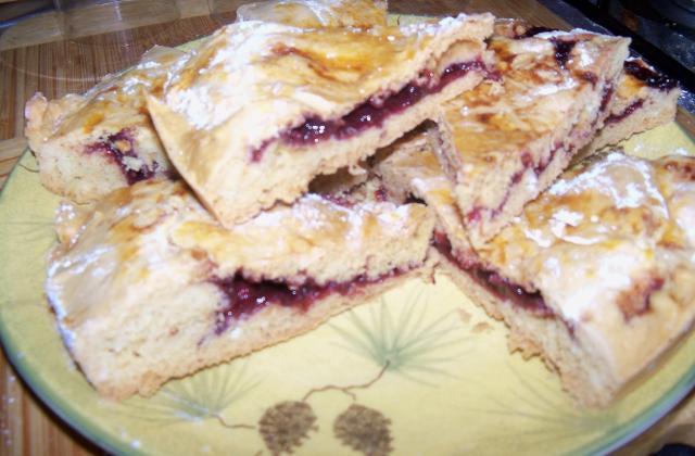 Gâteau Basque à la confiture de cerises - Photo par lyn1981