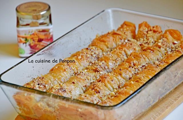 Baklava rolls aux amandes et miel du Maroc - Photo par Ponpon