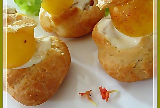 Choux au fruit d'or et à la crème d'Albert - Photo par nicole4X