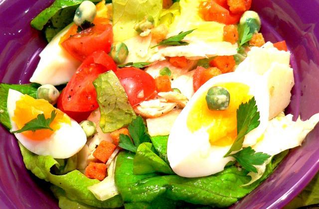 Salade césar - Photo par cdeboum
