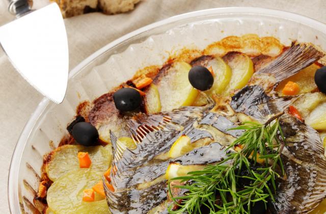 Turbot au four aux herbes aromatiques - Photo par auxbonsmetsdhelene
