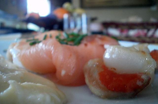 Ballotins de saumon fumé à l'œuf poché - Photo par Communauté 750g