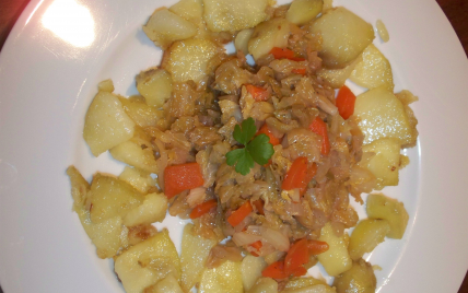 Chou aux pommes de terre - Photo par 750g