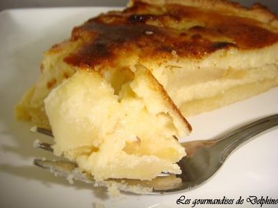 Tarte normande facile - Photo par gourmandisesdelphine