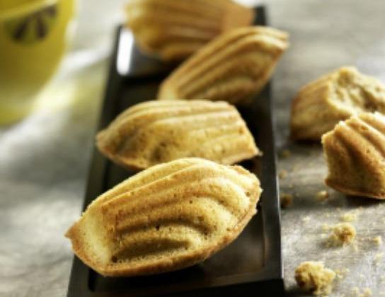Madeleines à la gousse de vanille - Photo par marmiton gourmand