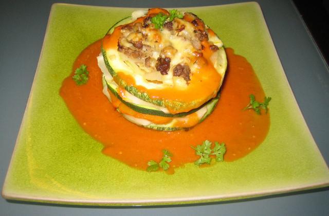 Légumes farcis revisités - Photo par 750g