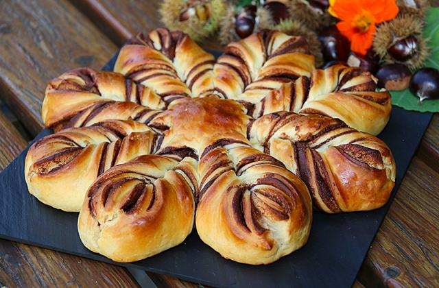 Brioche comme un flocon - Photo par jackieyZ