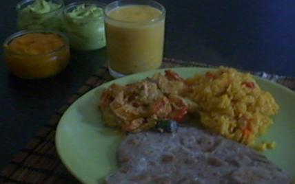 Déjeuner Indien - Photo par adelinaK