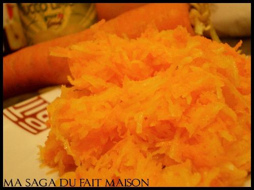 Salade de carotte et radis noir - Photo par SagaM