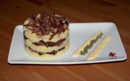 Effilochée de queue de bœuf sauce moutarde - Photo par romida