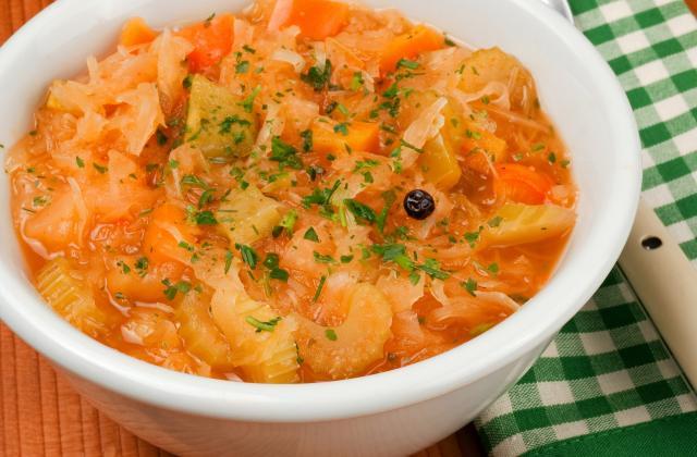Soupe aux choux maison - Photo par 750g