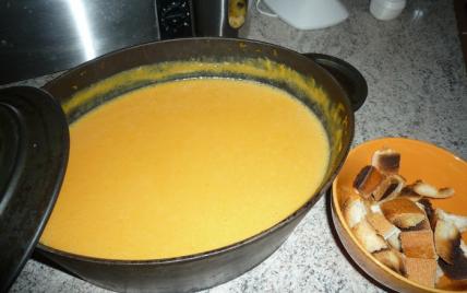 Soupe à la citrouille - Photo par solassol