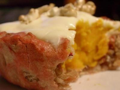 Fun tartelettes au potimarron, noix et comté - Photo par folle2