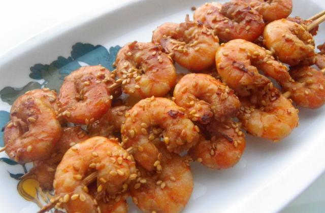 5 brochettes délicieusement parfumées au curry - Photo par Hilly's cook