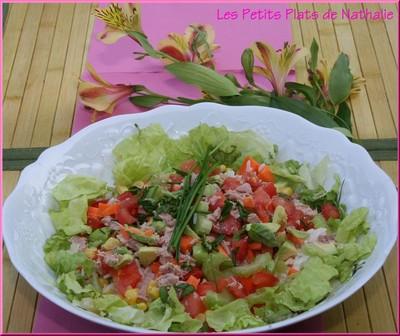 Salade estivale maison - Photo par nathalHlt