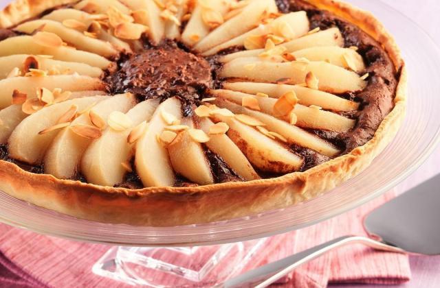 Tarte chocolat-poires facile - Photo par Cedus Le sucre