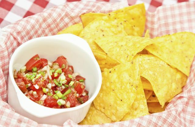 Chips de maïs à la  Mexicaine - Photo par 750g