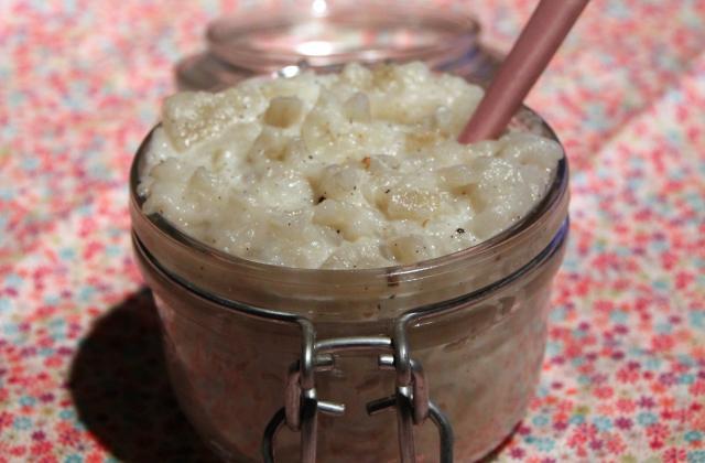 Ecrasé de topinambour à la vanille - Photo par lilis kook