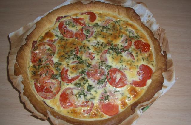 Tarte tomates et moutarde à l'italienne - Photo par mhouda