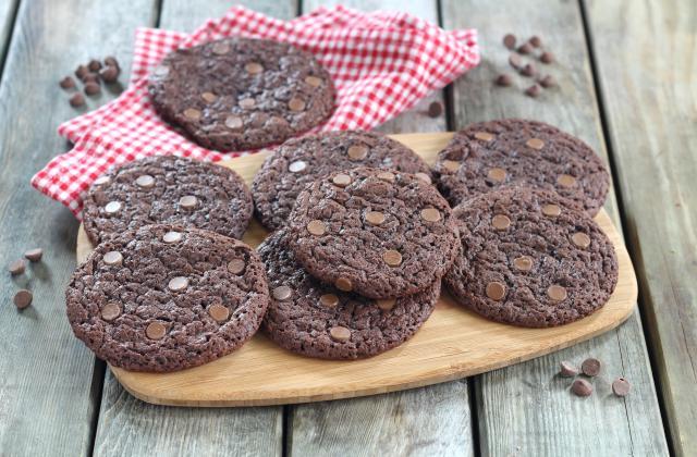Cookies géants au chocolat au lait - Photo par Silvia Santucci