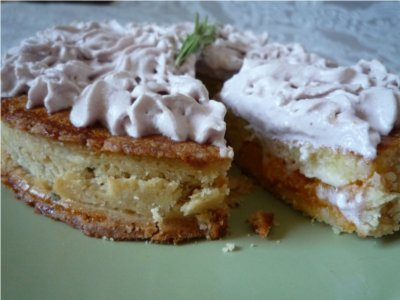 Tarte sablée romarin-abricot-lavande - Photo par sommerR