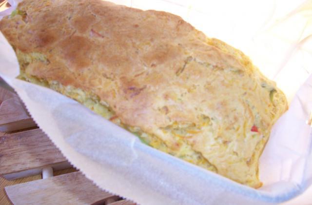 Cake à la julienne de légumes - Photo par mamabio