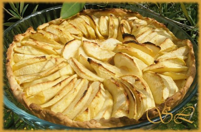 Pâte aux petits suisses et tarte aux pommes - Photo par Blog d'Elisa