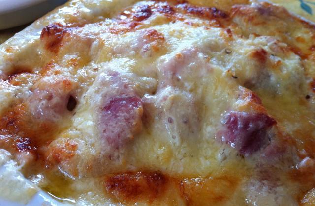 Croute au beaufort d'alpage - Photo par La cuisine d'Eve