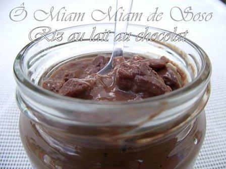 Riz au lait au chocolat - Thermomix - Photo par soso78410