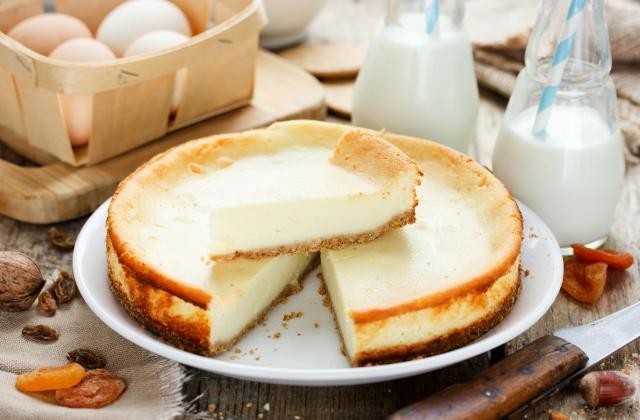 Cheesecake léger au fromage blanc et spéculos - Photo par 750g