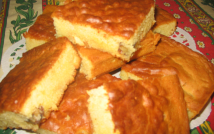 Brownies au chocolat blanc rapide - Photo par belledz