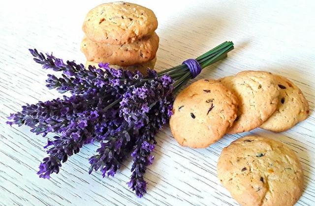 Cookies à la lavande au thermomix - Photo par Dany33