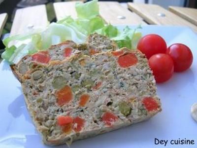 Terrine de thon aux légumes facile - Photo par DeyCuisine