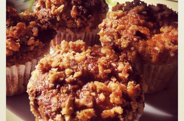 Muffins banane et noix de macadamia - Photo par valeri8P