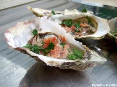 Les huîtres aux saveurs Aquitaine - Photo par papille