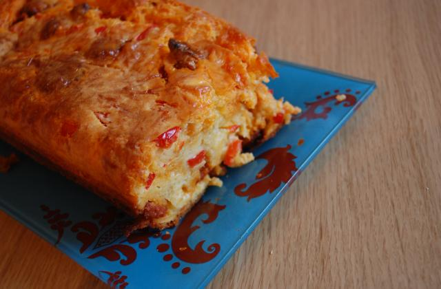 Cake poivron et chorizo - Photo par apieju