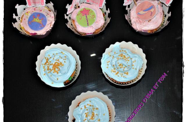 Cupcakes fille ou garçon ? - Photo par Les douceurs d'Ema et Tom