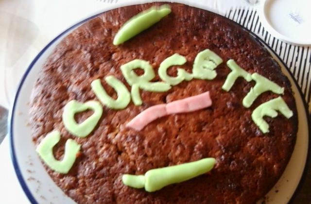 Gâteau courgette chocolat - Photo par petitplat