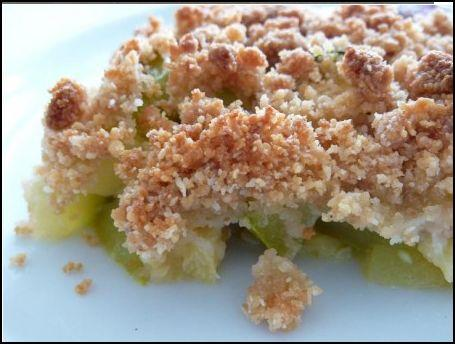 Crumble de courgettes facile et rapide - Photo par franckURT