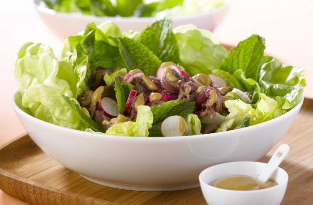 Salade de bœuf à la menthe fraîche - Photo par Amora