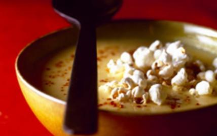 Soupe de pop corn - Photo par Vins du Val de Loire