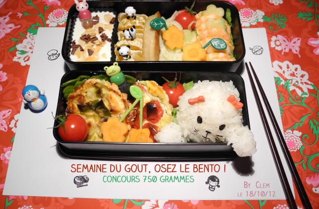 Happy  Bento ! - Photo par Klemso