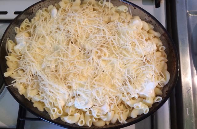 Gratin de pâtes aux champignons et à la mozzarella - Photo par my-louche