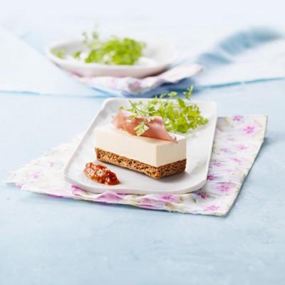 Parfait au Elle & Vire Le Fromage à la crème, Biscuit au sésame - Photo par Elle & Vire