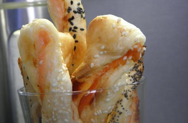 Feuilleté saumon fumé - Photo par food attitude