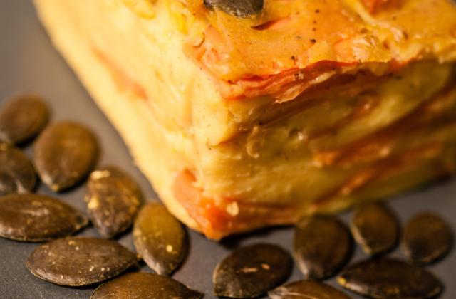 Flan parisien curry-carotte - Photo par johanne B